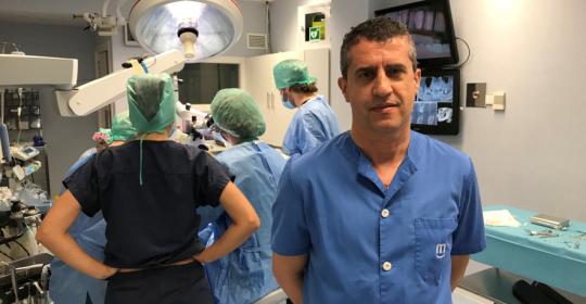 Estancia clínica con el Dr. Fernández Gran referente a nivel mundial en cirugía regenerativa