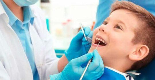 Consejos para que la primer visita del niño al dentista sea exitosa.